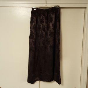 CP Shades size large black jacquard print skirt